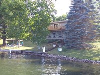 Lake Miramichi Frontage With Home : Evart : Osceola County : Michigan