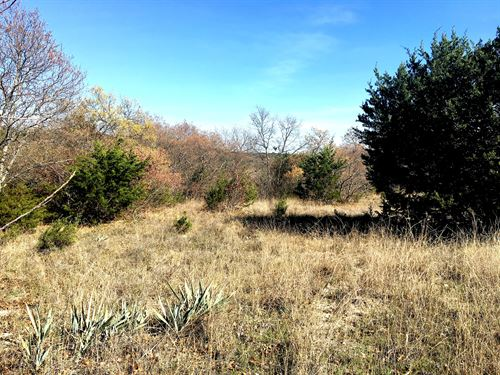 Great 1.01 Acre Lot To Build On : Bluff Dale : Erath County : Texas