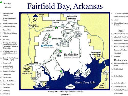 Fairfield Bay Ar Premium Lot : Fairfield Bay : Van Buren County : Arkansas