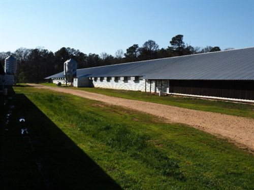 Poultry Farm For Sale Smith County : Morton : Smith County : Mississippi