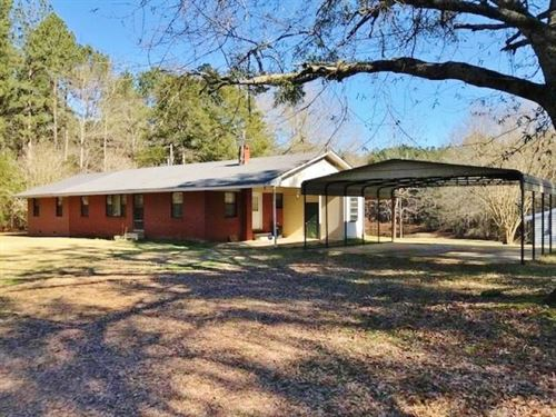 3 Bed, 2 Bath Home/Camp 540.23 Acre : Kosciusko : Attala County : Mississippi