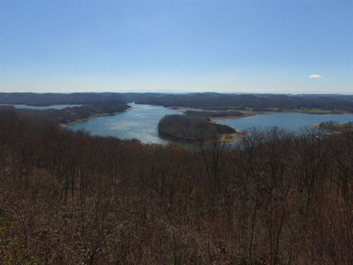 Look Out Over Cherokee Lake : Mooresburg : Hawkins County : Tennessee