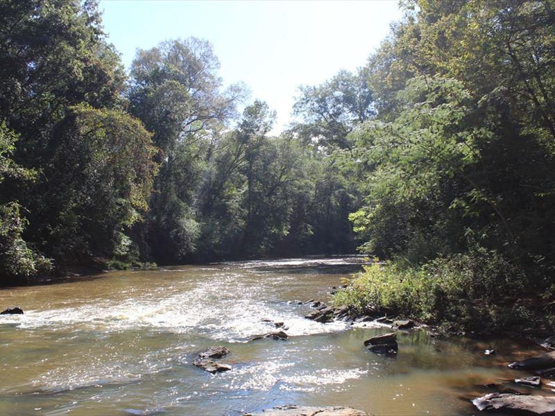 200 Acres On Potato Creek Land For Sale Thomaston