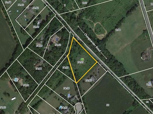3.27 Acre Lot In Washington Townshi : Township Of Washington : Warren County : New Jersey