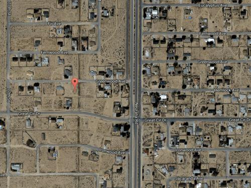 .29 Acres In California City, ca : California City : Kern County : California
