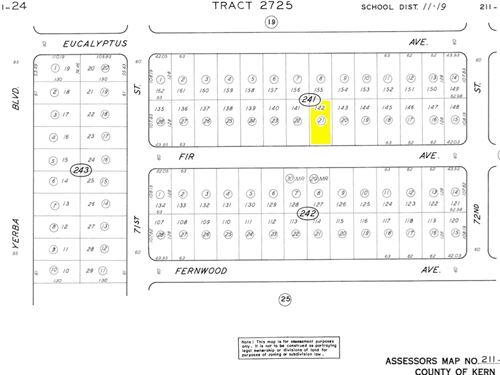 .19 Acres In California City, CA : California City : Kern County : California