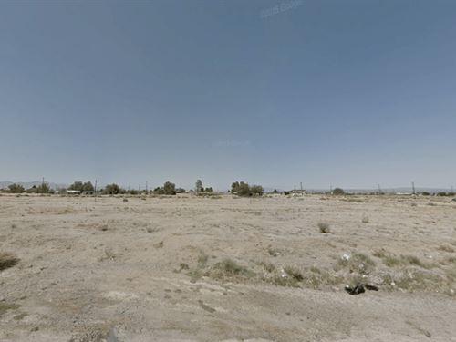 .18 Acres In California City, CA : California City : Kern County : California