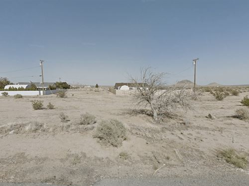 .25 Acres In California City, ca : California City : Kern County : California