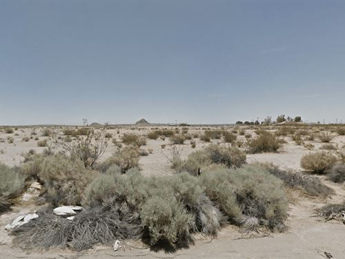 .24 Acres In California City, CA : California City : Kern County : California