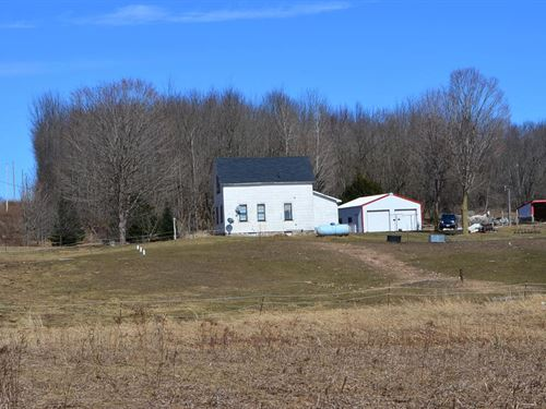 Old Farm House With 40 Acres : Tigerton : Shawano County : Wisconsin