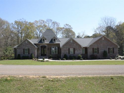Home For Sale Near Percy Quin State : McComb : Pike County : Mississippi
