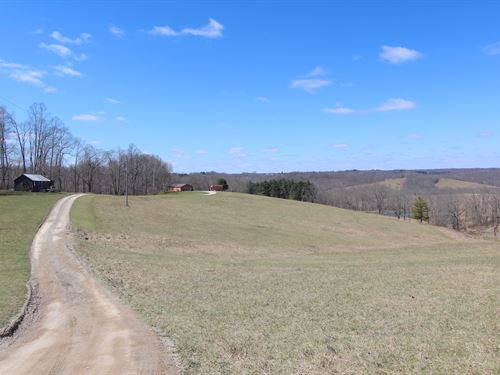 Sandridge Rd - 110 Acres : Zanesville : Muskingum County : Ohio