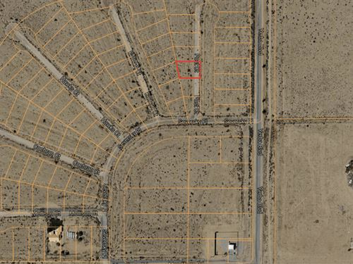 .15 Acres In California City, CA : California City : Kern County : California