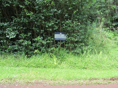 9000 Sq.Ft. Close To Hilo And Ocean : Pahoa : Hawaii County : Hawaii