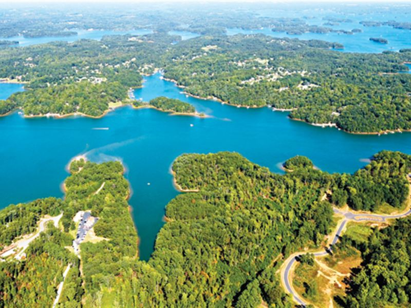 Lake Lots From Only $19,900 : Seneca : Oconee County : South Carolina