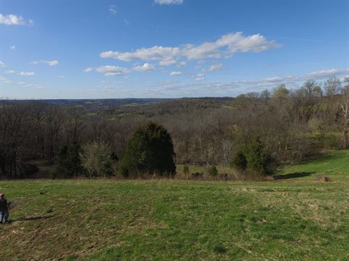 19 Acres With Incredible Views : Mount Pleasant : Maury County : Tennessee