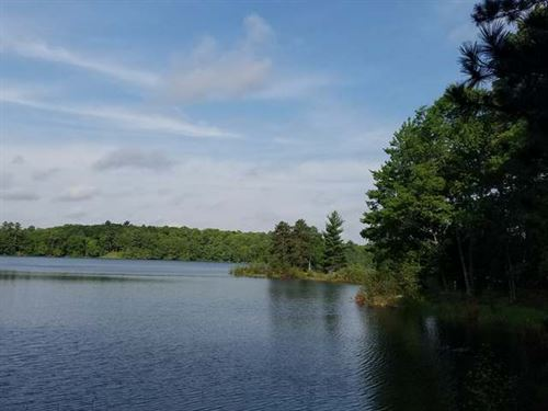 Breathtaking Views On Long Lake : Cisco : Oneida County : Wisconsin