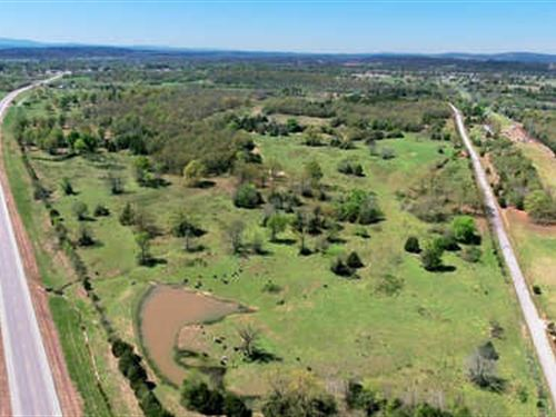 Land Auction - 105+/- Ac In 8 Tract : Poteau : Le Flore County : Oklahoma