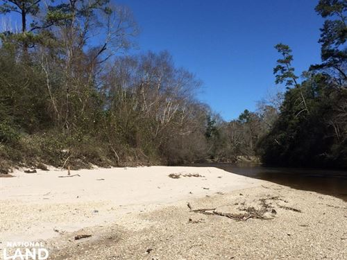 48 Acres on Black Creek With Sand : Brooklyn : Forrest County : Mississippi