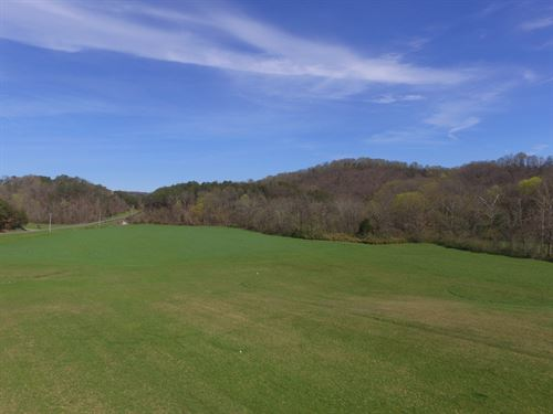 8.539 Acres Cleared With Creek : Newport : Cocke County : Tennessee