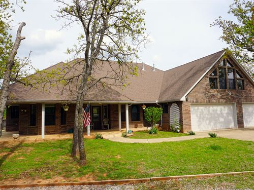 Ok Luxury Retreat Home And Acreage : Wellston : Lincoln County : Oklahoma