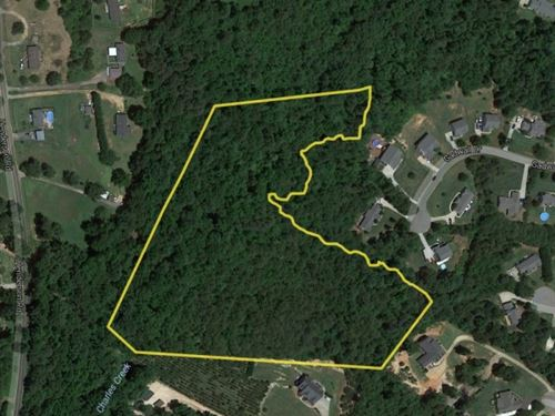 9.07 Acres Residential Building Loc : Easley : Pickens County : South Carolina