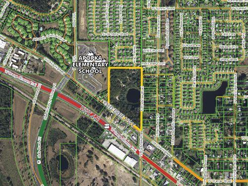 Apopka Prime Development Land : Apopka : Orange County : Florida
