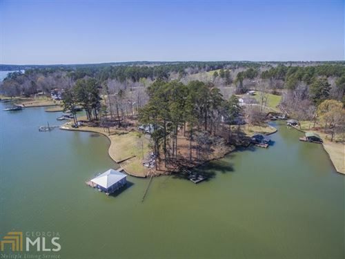 Waterfront Point Lot Lake Sinclair : Eatonton : Putnam County : Georgia