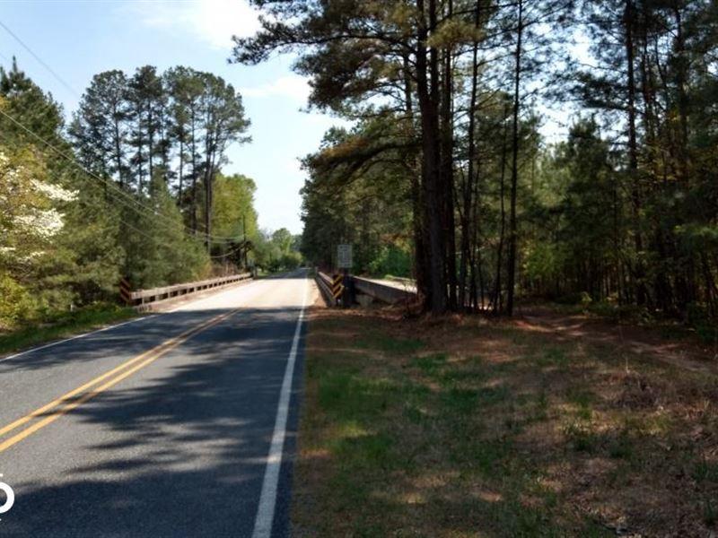 Jordan Dam Road/Awesome Developme : Moncure : Chatham County : North Carolina