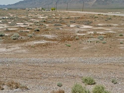 Nye County, Nv $40,000 Neg : Pahrump : Nye County : Nevada
