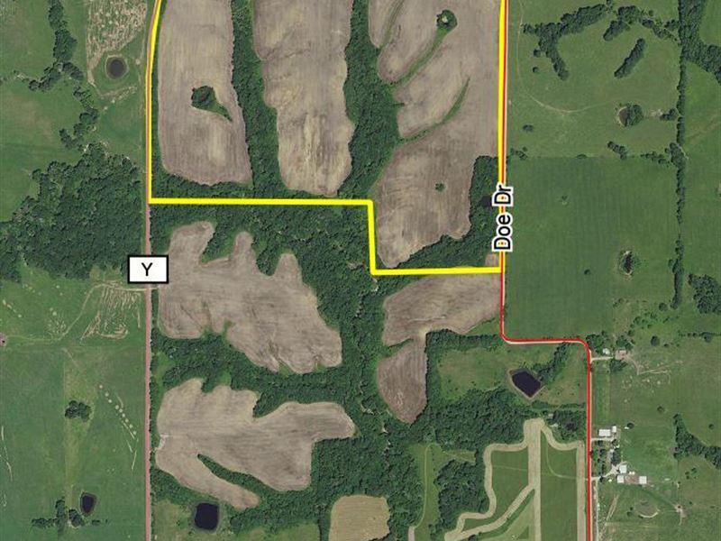 110 Acres Hwy Y : Purdin : Linn County : Missouri