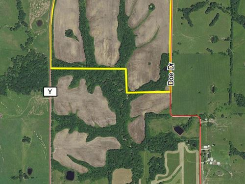 110 Acres Hwy Y : Purdin : Linn County : Missouri