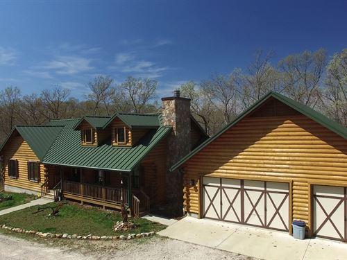 82 Acres Lake Of The Ozarks : Eldon : Miller County : Missouri