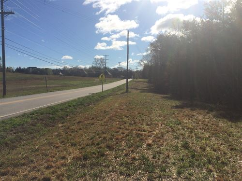 Prime Development Site - Corner Lot : Easley : Pickens County : South Carolina