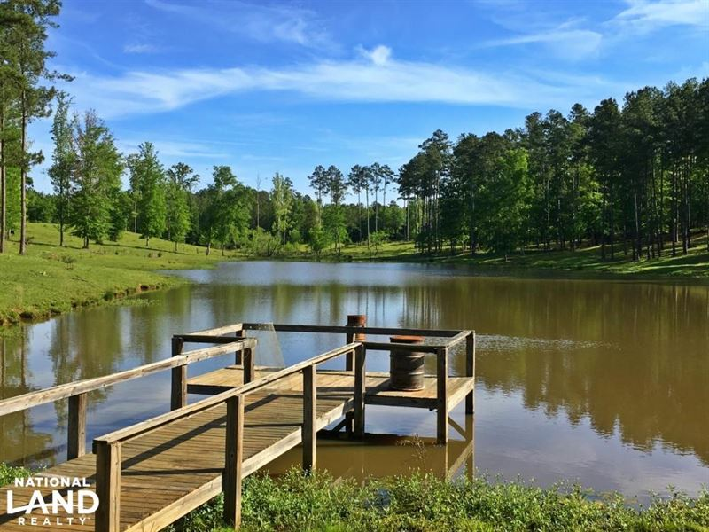 The Silas Lake Lodge & Farm Tract : Silas : Choctaw County : Alabama