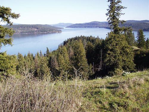 Beautiful Lake Coeur D'alene Acreag : Coeur D'alene : Kootenai County : Idaho