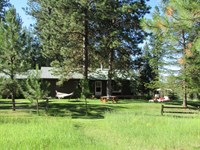 Recreational River Retreat : Condon : Missoula County : Montana