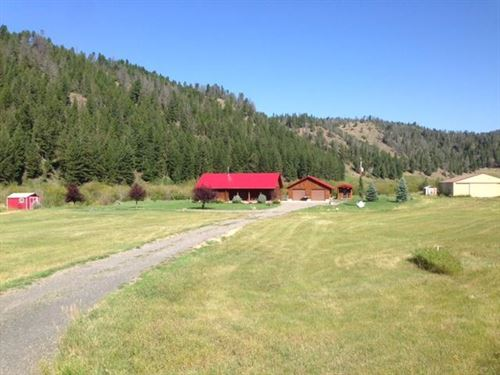 Log Cabin Creek Paradise : White Sulphur Springs : Meagher County : Montana