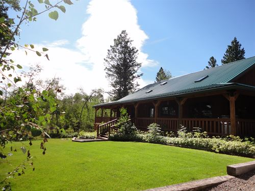 A Tranquil Oasis In The Montana Tre : White Sulphur Springs : Meagher County : Montana