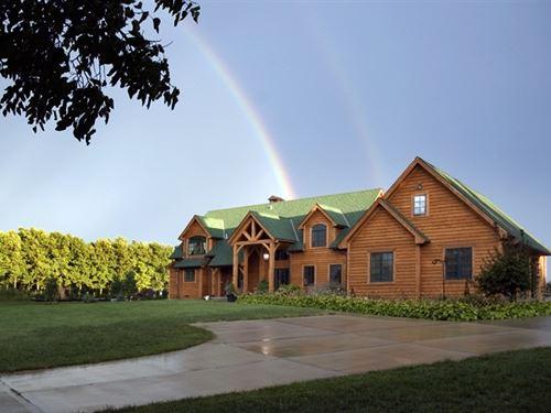 Timber-Frame Oasis : Stilwell : Johnson County : Kansas
