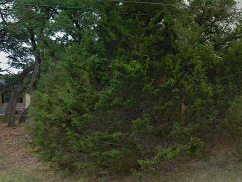 Comal County, Texas $22,000 Neg : Canyon Lake : Comal County : Texas