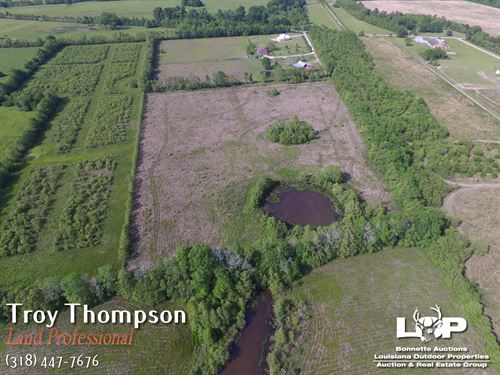 10 Acres Near Deville : Deville : Rapides Parish : Louisiana