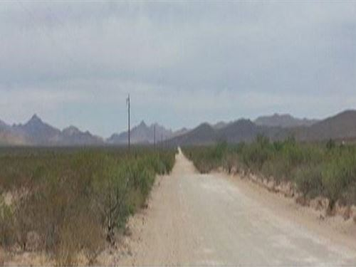 Hudspeth County, Texas $12,500 Neg : Sierra Blanca : Hudspeth County : Texas
