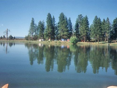 Wild Billy Lake Resort : Beatty : Klamath County : Oregon