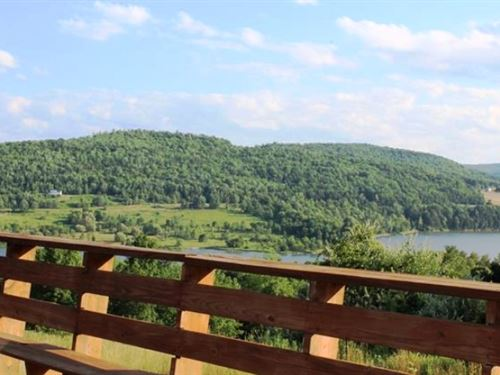 Lodge & Restaurant On 30 Acres : Lawrenceville : Tioga County : Pennsylvania