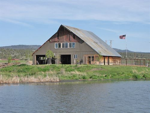 Horse Ranch On Lost River : Bonanza : Klamath County : Oregon