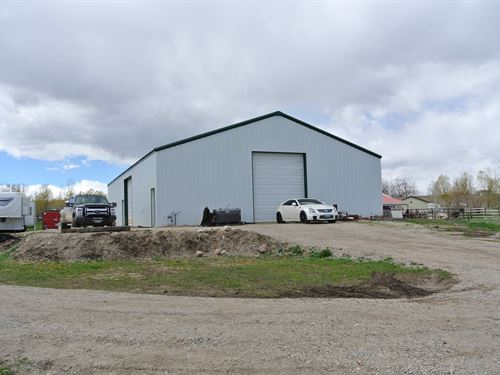 Meadow View Acreage & Shop : Lander : Fremont County : Wyoming