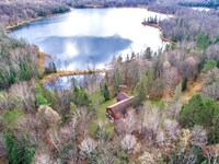 Privacy Plus Lakefront On 2 Lakes : Presque Isle : Vilas County : Wisconsin