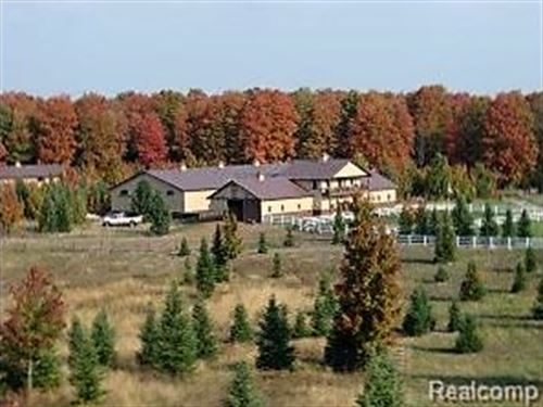 136 Acres In The Heart Of Michigan : Vanderbilt Vlg : Otsego County : Michigan