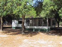 2/2 Dwmh On 10 Acres 773770 : Chiefland : Levy County : Florida